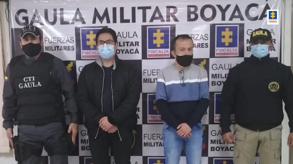 Capturados dos hombres para cumplir sentencias por extorsión - Noticias de Colombia