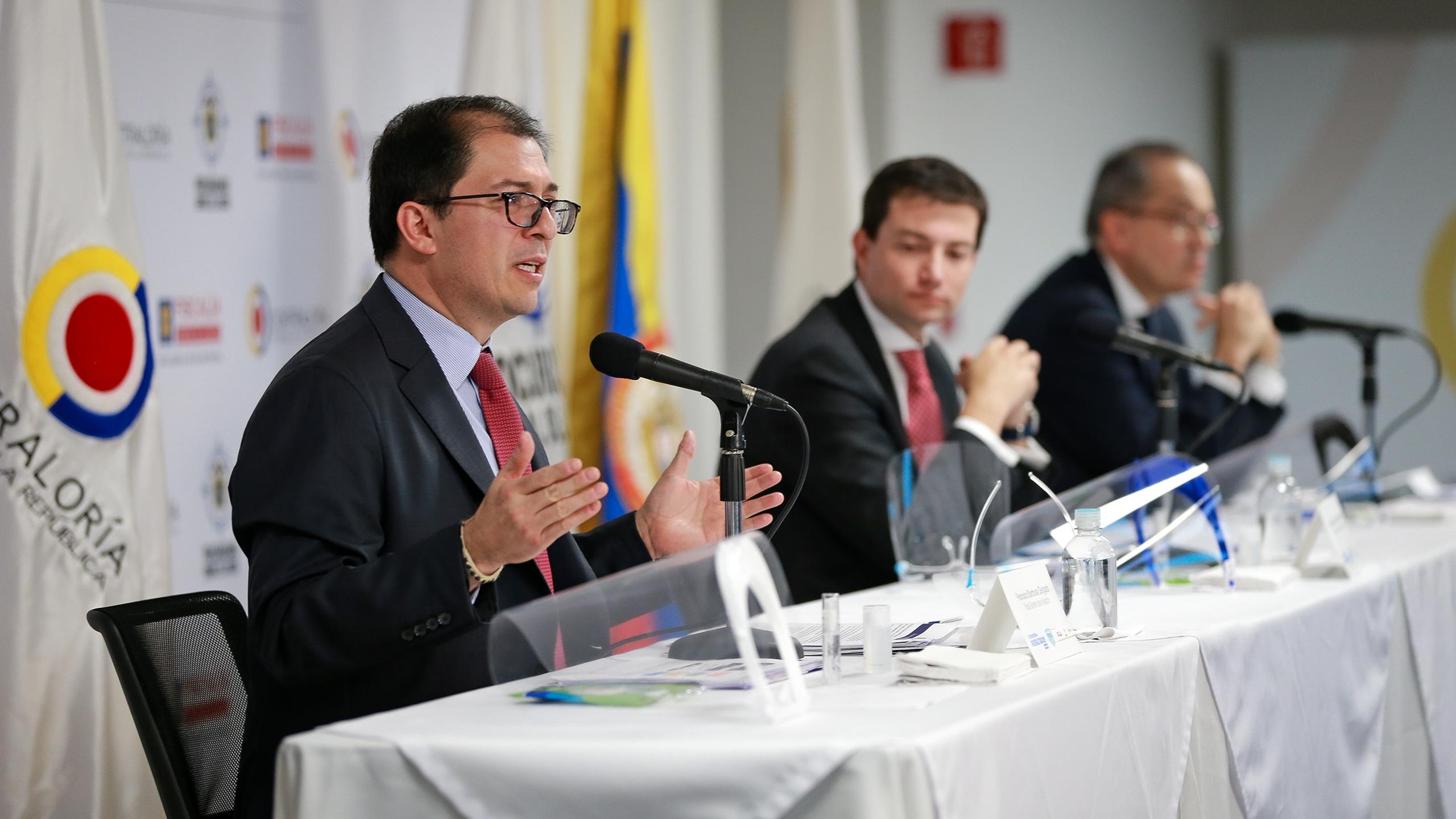 Rueda de prensa Fiscalía, Contraloría y Procuraduría - Transparencia por la Emergencia, 17 de  junio de 2020