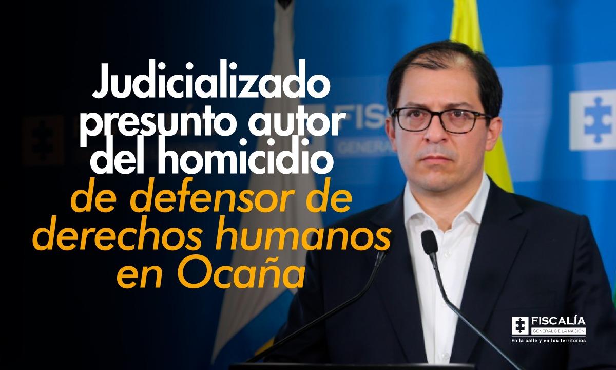 Asegurado en centro carcelario presunto homicida del defensor de derechos humanos Jorge Luis Solano Vega
