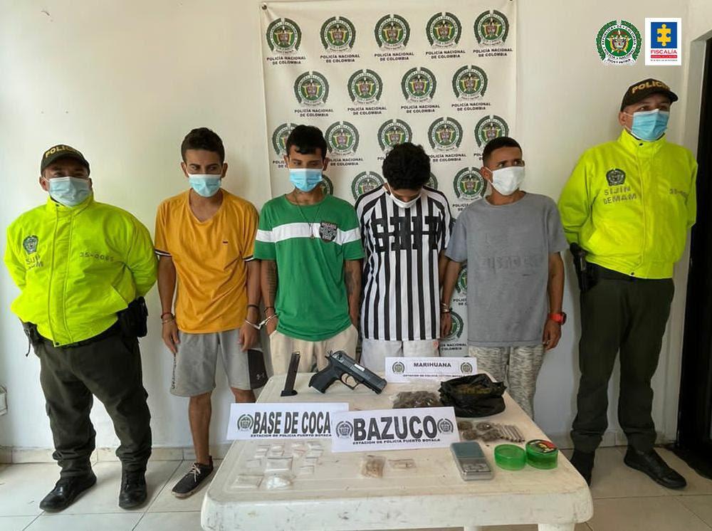 Desarticulada banda Bosculver dedicada al tráfico de estupefacientes - Noticias de Colombia