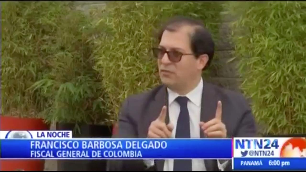 Entrevista al Fiscal General en NTN 24 (26 de mayo de 2020)