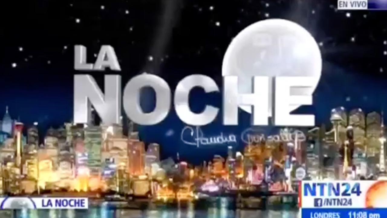 Entrevista al Fiscal General de la Nación en La Noche - NTN24 (25 de junio de 2020)
