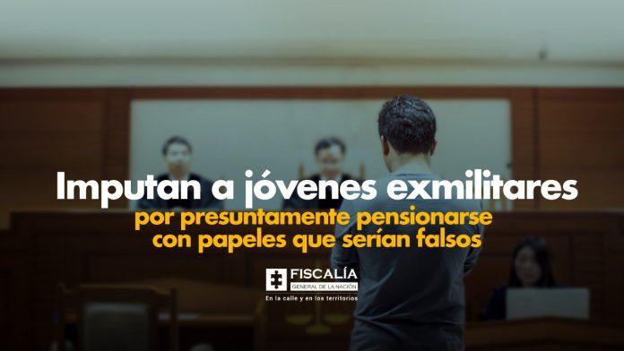 Imputan a jóvenes exmilitares por presuntamente pensionarse con papeles que serían falsos - Noticias de Colombia
