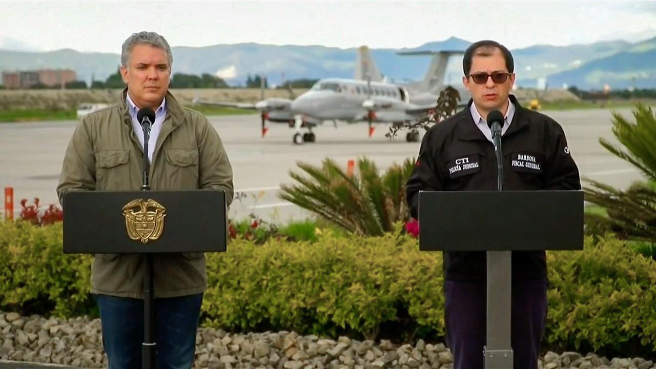 Fiscal General de la Nación, Francisco Barbosa Delgado, anunció el esclarecimiento del homicidio de seis personas en Tumaco