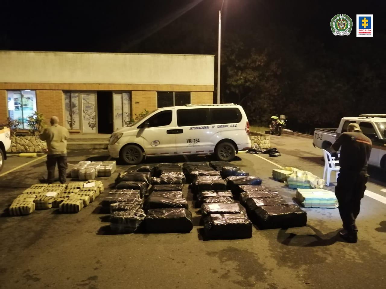 Juez envía a prisión a presunto responsable de transportar 228 kilos de marihuana ocultos en una planta eléctrica - Noticias de Colombia