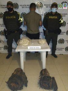 A intramuros presunto responsable de transportar carca de 5 kilos de cocaína - Noticias de Colombia
