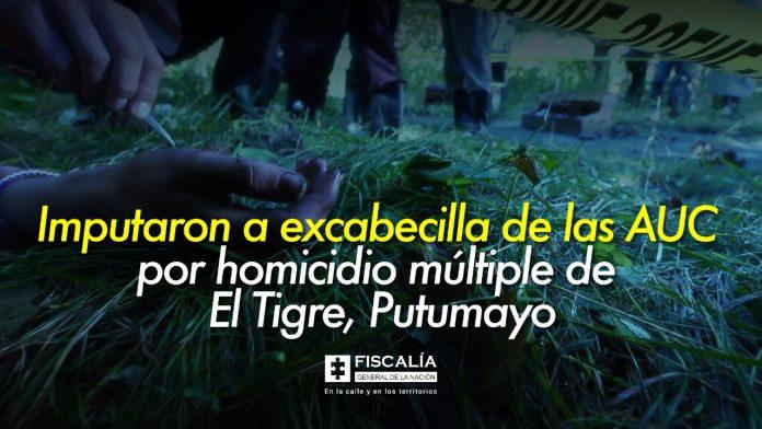 Exlíder de las AUC acusado de múltiples homicidios en el Tigre, Putumayo | Noticias de Buenaventura, Colombia y el Mundo