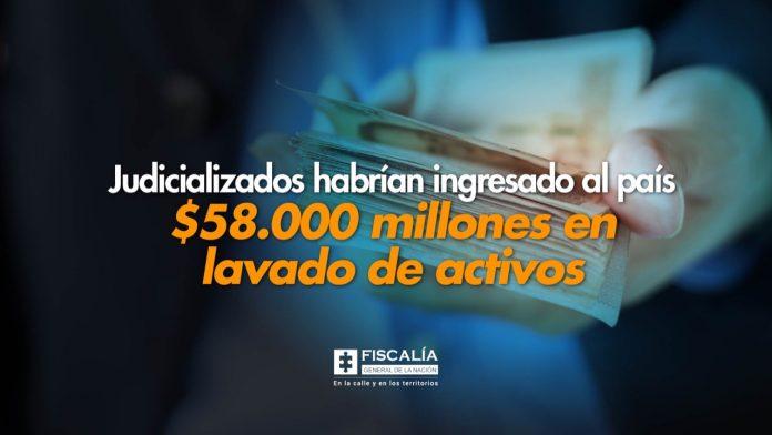 Judicializados habrían ingresado al país $58.000 millones en lavado de activos - Noticias de Colombia