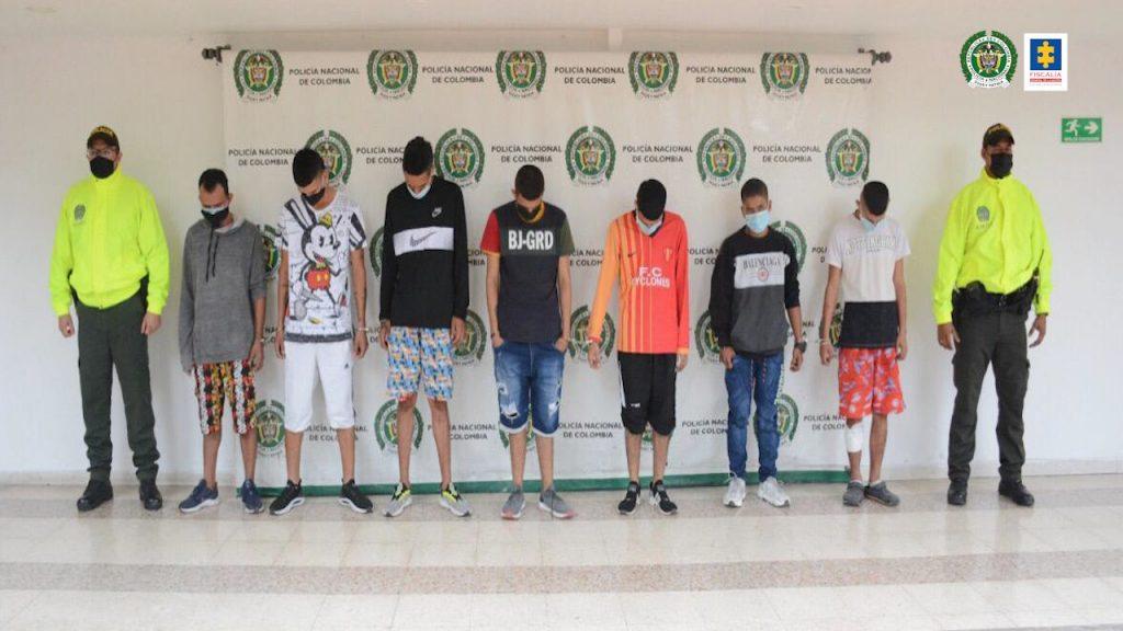 A la cárcel siete presuntos integrantes del grupo delincuencial Los Chatarreros - Noticias de Colombia