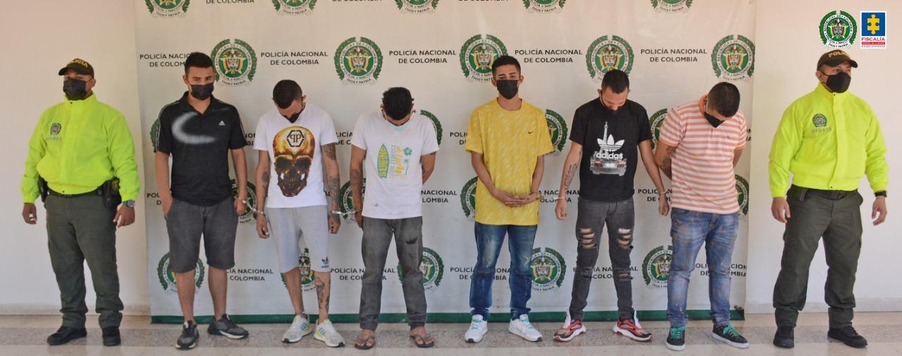 Fiscalía impacta banda que estaría dedicada al hurto a personas en Neiva - Noticias de Colombia