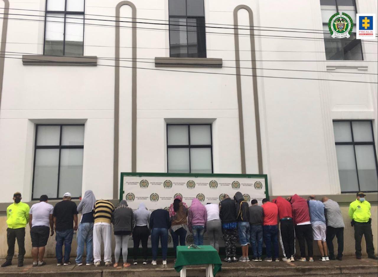 Fiscalía ha desarticulado 44 estructuras criminales que afectaban la seguridad ciudadana en el departamento de Santander - Noticias de Colombia
