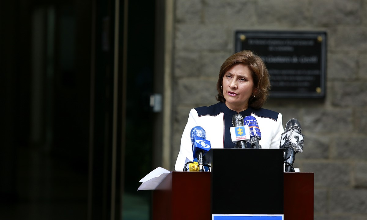 Rueda de prensa Vicefiscal General sobre caso de Álex Saab