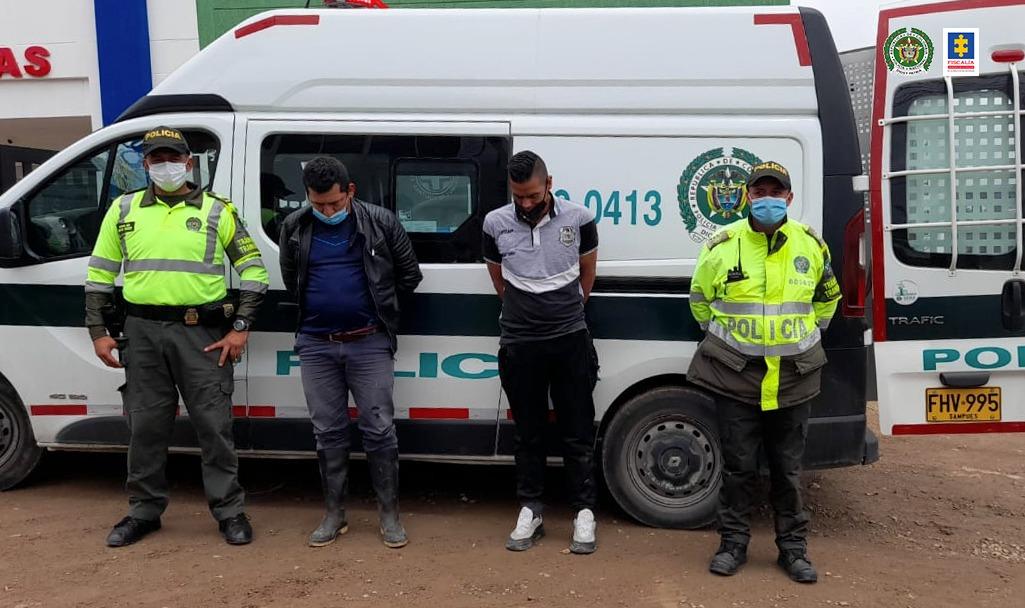 A la cárcel tres hombres que habrían intentado secuestrar al propietario de una estación de gasolina en Boyacá - Noticias de Colombia