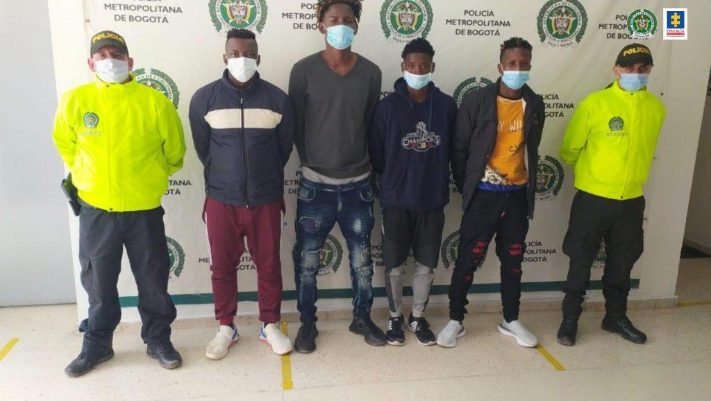 A la cárcel cuatro presuntos integrantes del grupo delincuencial Quirón en el sur de Bogotá - Noticias de Colombia