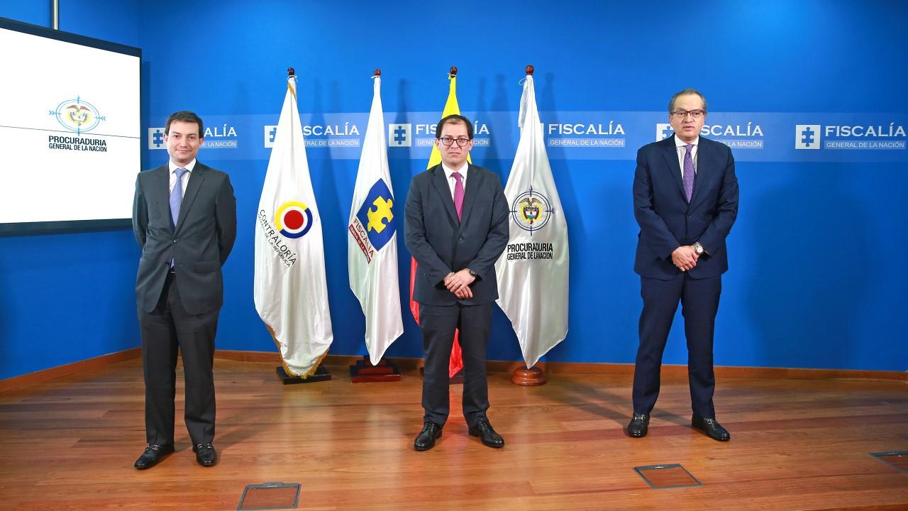 Entrevista a Fiscal, Contralor y Procurador con Juan Roberto Vargas (Noticias Caracol - 24 de abril de 2020)