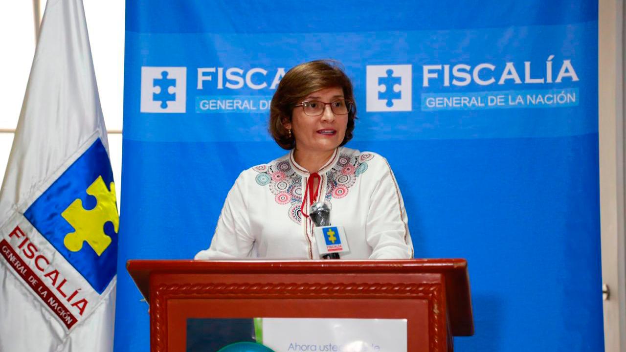 Rueda de prensa Vicefiscal General de la Nación al término de su visita a San José del Guaviare (4 de julio de 2020)