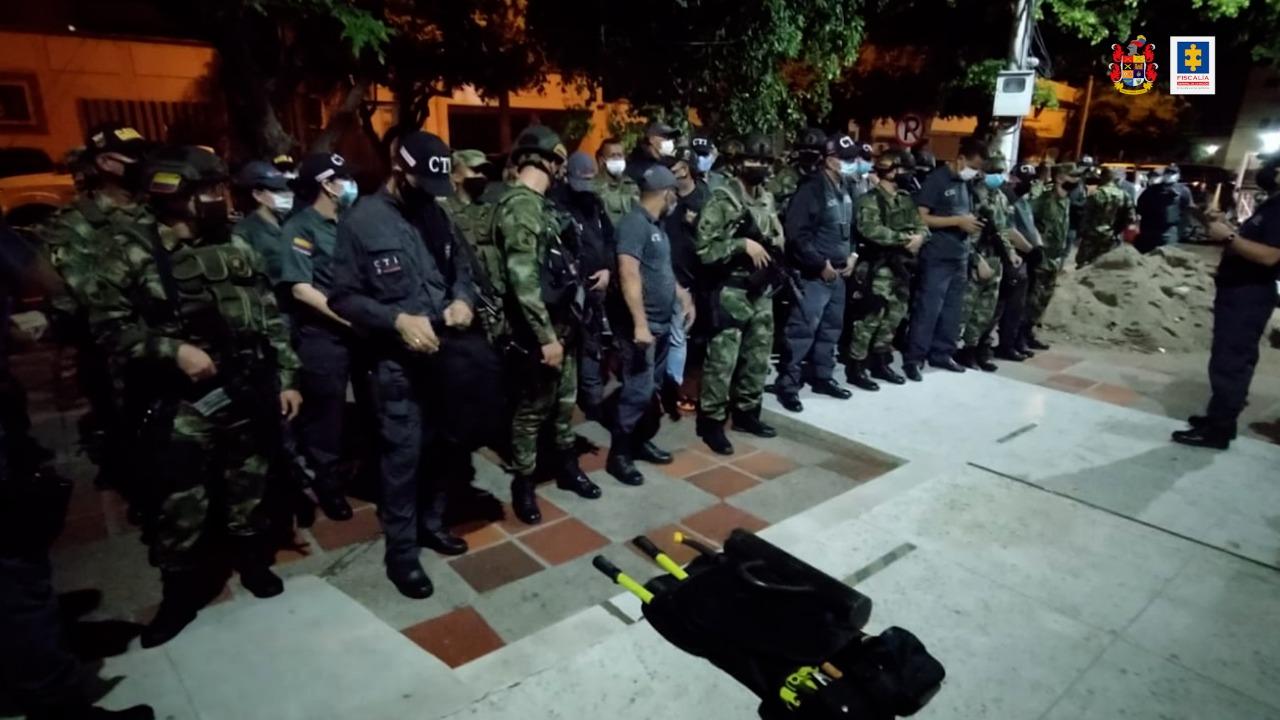 Privados de la libertad 11 presuntos integrantes de la 'Red de la Grande', dedicados a la extorsión en Valledupar - Noticias de Colombia