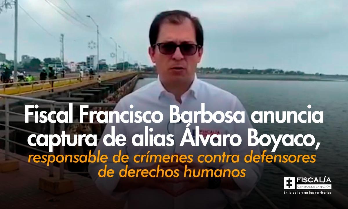 Capturado alias Álvaro Boyaco, presunto cabecilla de grupo residual responsable de afectaciones contra reincorporados y defensores de derechos humanos en el oriente del país