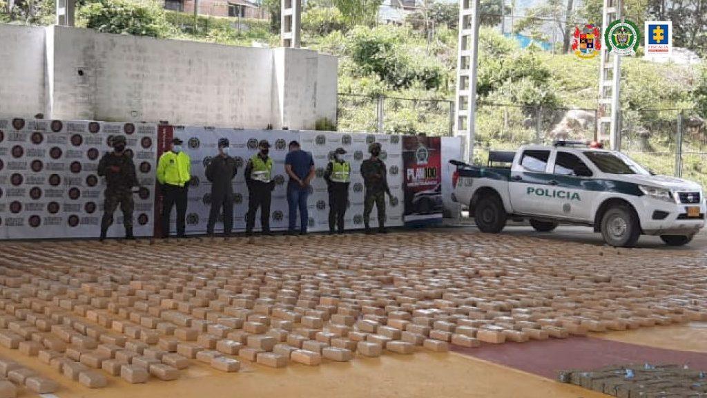 Más de 20 kilos de cocaína y 6 toneladas de marihuana han sido incautadas por las autoridades en el Tolima - Noticias de Colombia