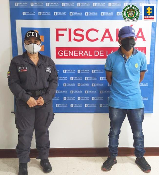 Asegurado presunto responsable de abusar sexualmente de una menor de edad - Noticias de Colombia