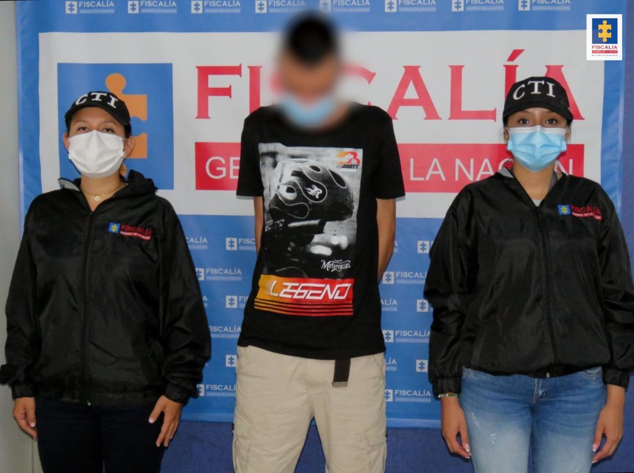 Joven de 21 años fue privado de la libertad por el presunto abuso de una niña de 13 años - Noticias de Colombia