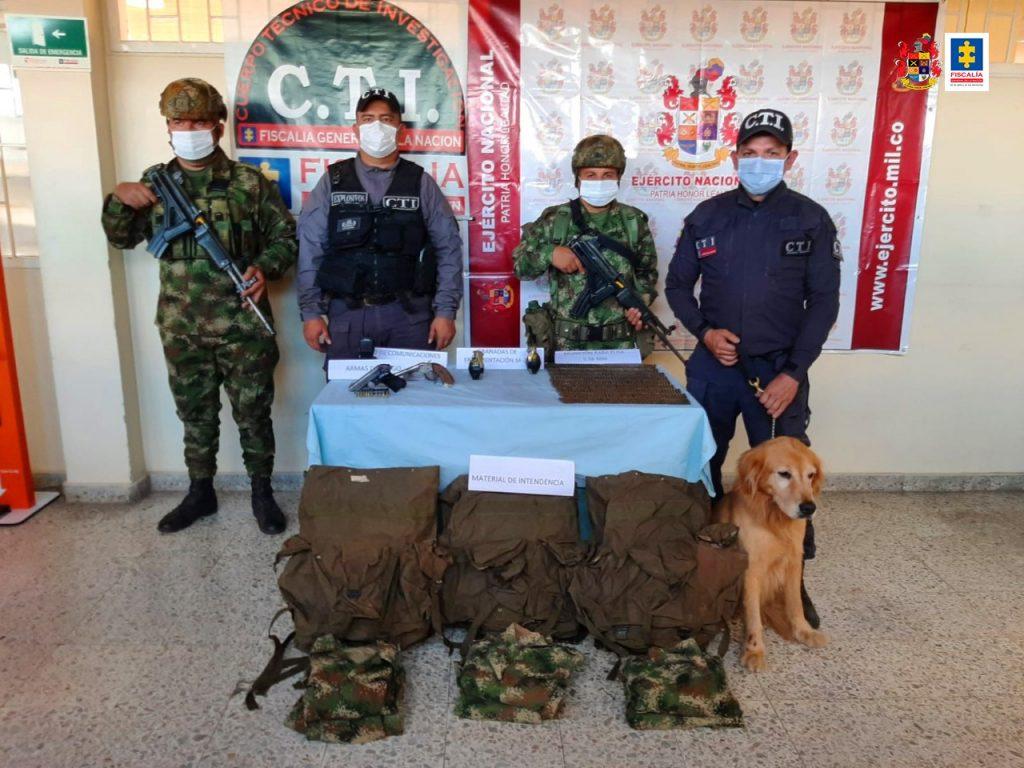 Incautado material de guerra en el norte del Tolima, el cual le pertenecería al Frente Ismael Ruíz - Noticias de Colombia