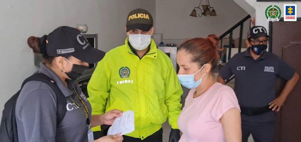 Capturada en Florencia presunta integrante de Las Asesoras - Noticias de Colombia