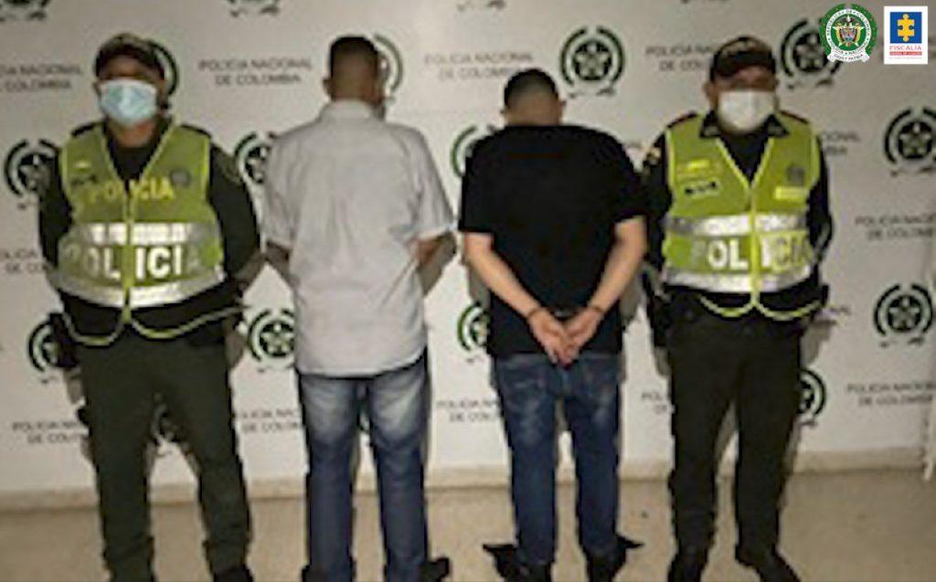 A la cárcel dos hombres que al parecer estarían implicados en un intento de hurto - Noticias de Colombia