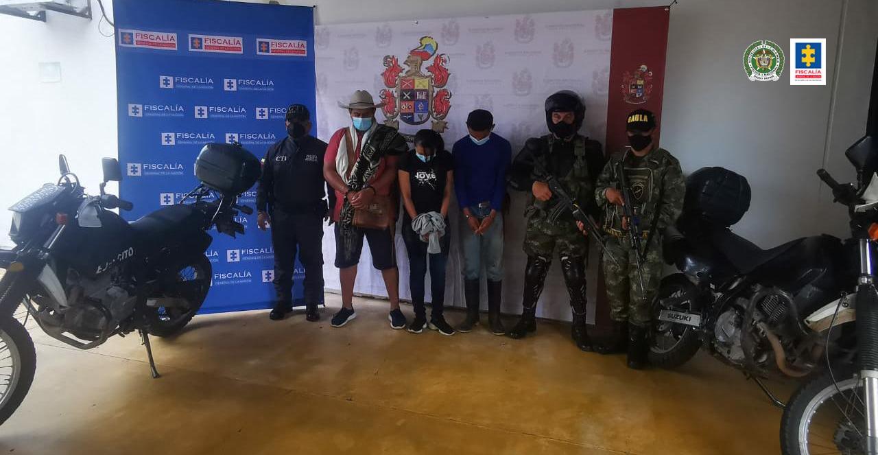 En Casanare, aseguradas 3 personas que al parecer realizaban extorsiones a nombre del Clan del Golfo - Noticias de Colombia