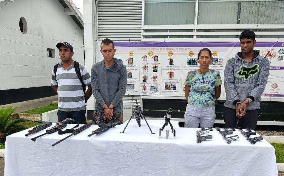 Cárcel para presuntos integrantes del 'Clan del Golfo', que estarían involucrados en el denominado 'Plan Pistola' en el Urabá - Noticias de Colombia