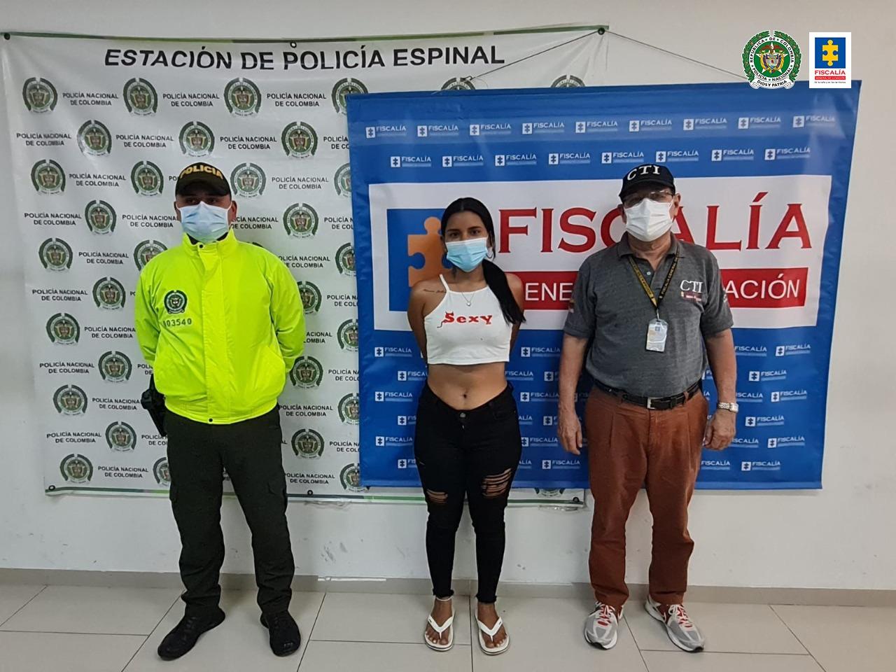 Asegurada una pareja por su presunta participación en varios hurtos en El Espinal (Tolima) - Noticias de Colombia