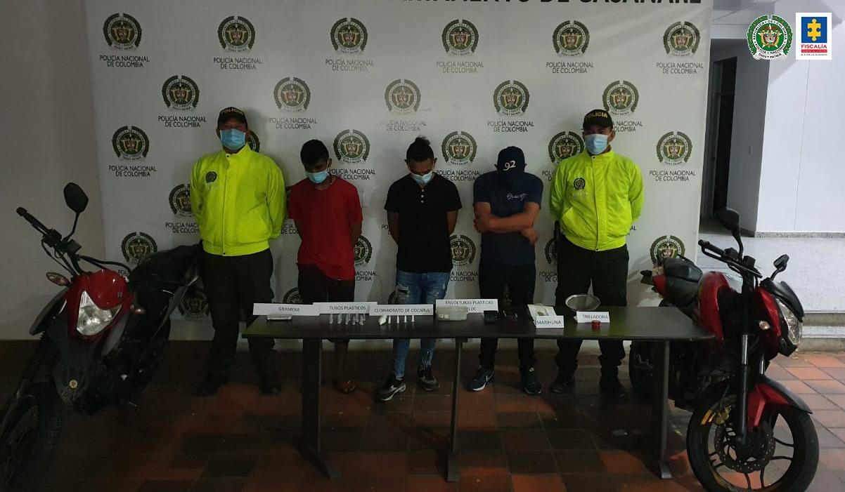 Medida de aseguramiento para tres hombres que pertenecerían al autodenominado grupo de delincuencia común Los Houses - Noticias de Colombia